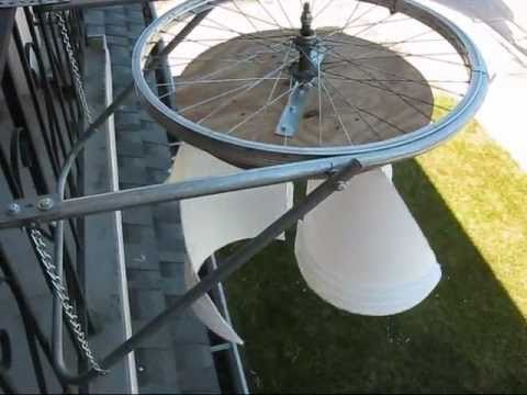 My VAWT (Vertical Axis Wind Turbine)