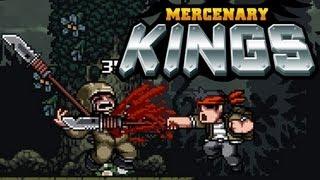 Mercenary Kings - Metal Slug meets Monster Hunter in this awesome 2D shooter (Gameplay 1080p)