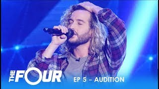 Download Lagu Noah Barlass: He's Nervous and Shy But Then He Opens His Mouth...WOW! | S2E5 | The Four Gratis STAFABAND