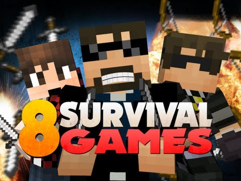 Minecraft Hunger Games 8 - Official Survival Games 6 With YouTubers!