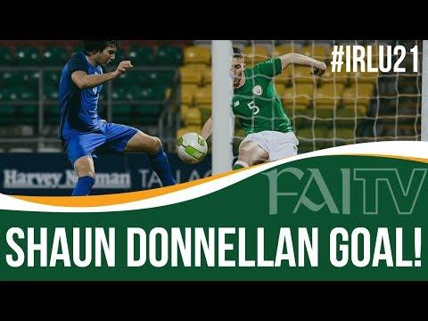 Ireland U21: Shaun Donnellan's 96th Minute Winner
