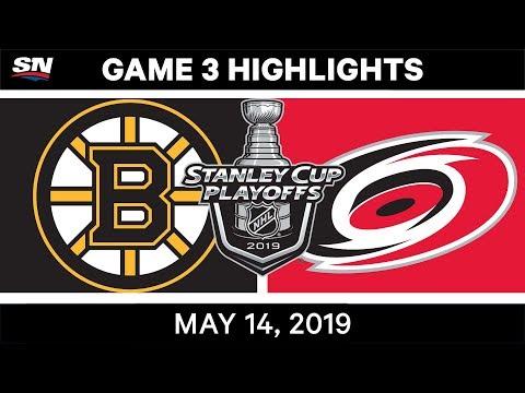 NHL Highlights | Bruins Vs. Hurricanes, Game 3 – May 14, 2019