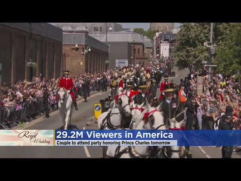 Nearly 30 Million Americans Watched Royal Wedding