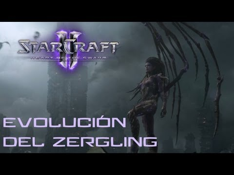 Guía Starcraft 2 Heart of the Swarm - Evolución del Zergling - Brutal
