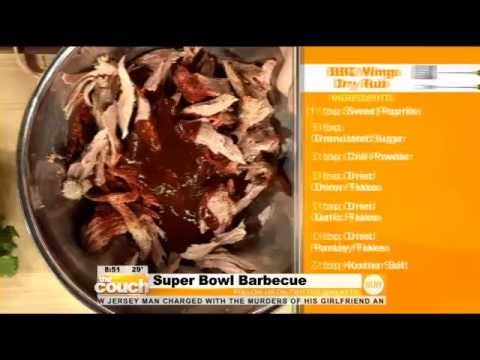 Virgil's Real BBQ Superbowl Menu with The Couch WLNY!
