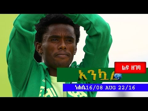Ethiopia - Ankuar : አንኳር - Ethiopian Daily News Digest Feyisa Lilesa Special  August 23, 2016