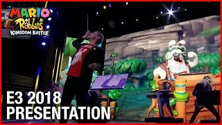 Mario + Rabbids Kingdom Battle: E3 2018 Conference Presentation | Ubisoft [NA]