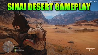 Battlefield 1 - Sinai Desert 1 Hour Raw Gameplay - New Guns!
