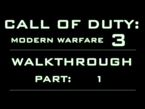 Call of Duty: MW3 Walkthrough - Part 1 - Martes Negro [PC]
