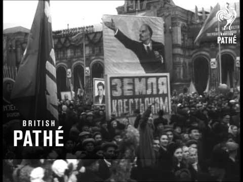 Parade And Demonstration In Russia (1957)