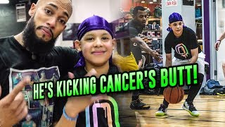 """This Is A Dream Come True!"" Ryan Has Cancer But That Doesn't Stop Him From BALLING OUT 🤩"