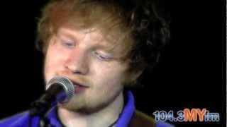 "Ed Sheeran ""Lego House"" Live Acoustic at 104.3 MYfm"