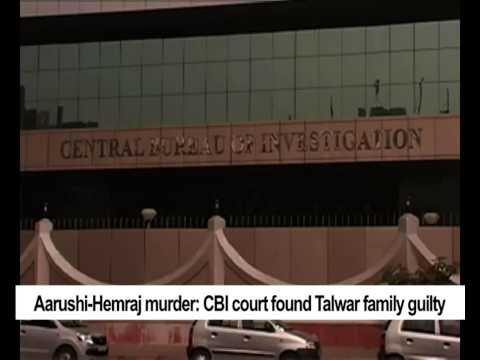 Aarushi Hemraj murder:  CBI court found Talwar family guilty