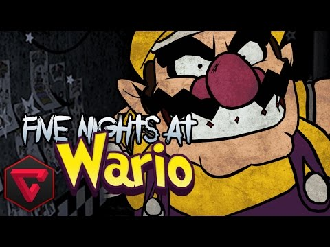 FIVE NIGHTS AT WARIO'S: WALUIGI Y WARIO ME VIGILAN - (Five Nights at Freddy's Fan Game)