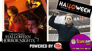 Halloween: 40 Years of Terror and Halloween Horror Nights Orlando vs. Hollywood - Scare Guy