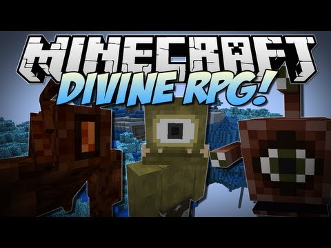 Minecraft | DIVINE RPG! (Ultimate Mobs, Bosses, Dimensions & More!) | Mod Showcase [1.6.2]