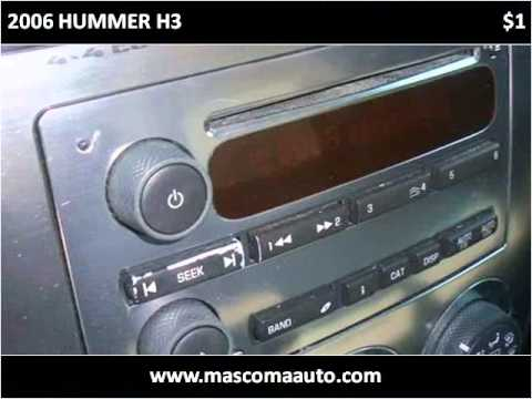2006 HUMMER H3 Used Cars Canaan NH