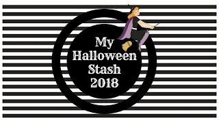 My Halloween Stash 2018 PT1 : Stickers and Ephemera