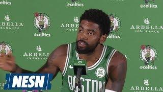 Kyrie Irving 2018 Boston Celtics Media Day Press Conference
