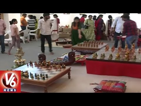 Good Old Games Organization Holds Games Expo At Saptaparni Book Store In Hyderabad | V6 News