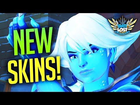 Overwatch - CASUAL HANZO! ALL NEW SKINS! Winter Wonderland 2017 Skins!