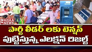 Party Leaders Tension About Exit Polls | Telangana Election | Mahaa news