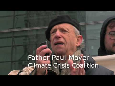 NYC Carbon Trading Protest