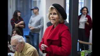 Jane Fonda launches series of climate change protests in DC - watch live