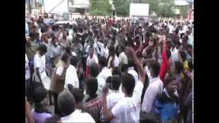 Lingaa Fans Celebration at Ganga Theater