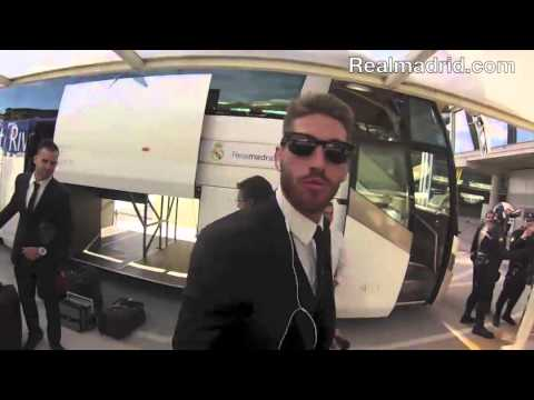 Behind The Scenes: The Whites leave Real Madrid City to the airport