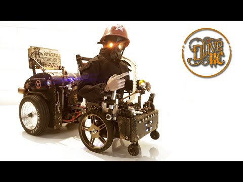 RC STEAMPUNK WHEELCHAIR - Part 2/3