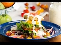 Darlington Fried Green Tomato & BLT Salad