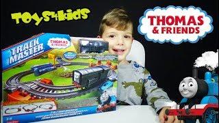 Τόμας το Τρενάκι Παιχνίδια Σιδηρόδρομος 3 Σε 1 ταξίδι με τον Ντίζελ και τον Τόμας