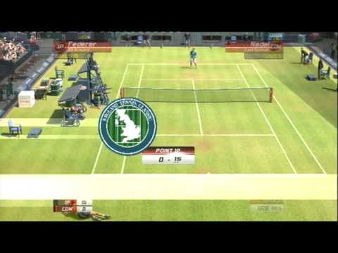 VIRTUA TENNIS 3 (PS3) FEDERER vs NADAL Video