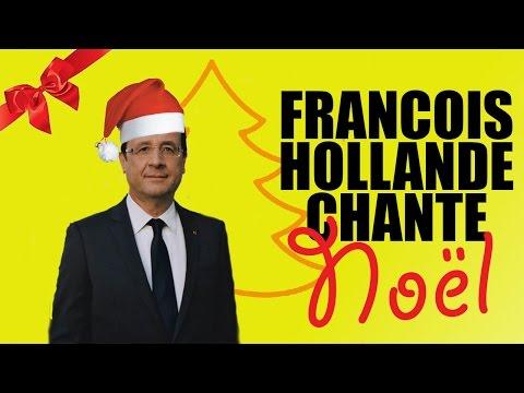 François Hollande chante Noel