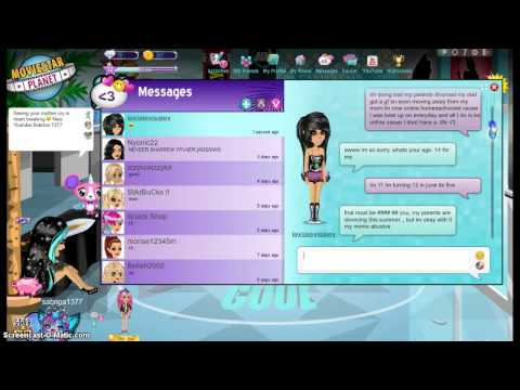 Movie star planet hacked by lexialexisalex (CRYING)
