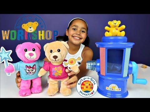 NEW Build A Bear Workshop Stuffing Machine - DIY Make Your Own Furry Friend