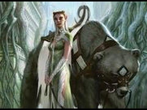 MTG: Commander-EDH: Damia, Sage of Stone vs. Yeva, Nature's Herald