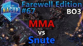Filthy Weekly #67 - MMA (T) vs Snute (Z) - Farewell Edition