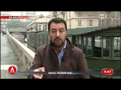 Matteo Salvini - Altro che bonus alle neomamme asili nido gratuiti subito