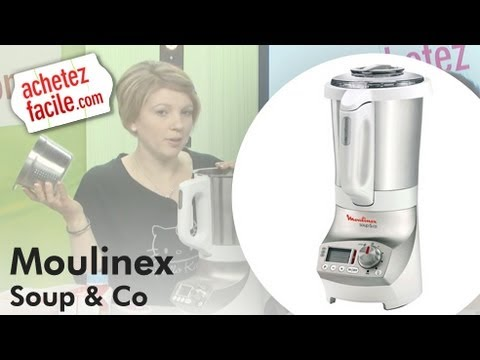 Test soup co de moulinex youtube - Recette moulinex soup and co ...