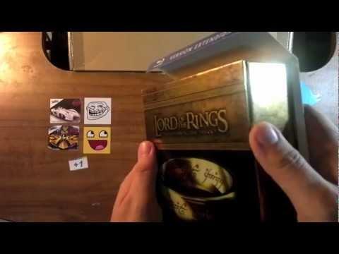 Unboxing: El Señor de los Anillos Versión Extendida Blu-Ray en Español [HD]