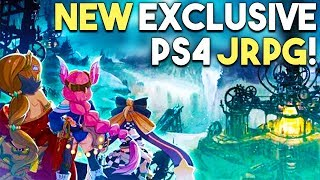 NEW PS4 JRPG Announced! PS4 Exclusive Gets AWESOME Reviews!
