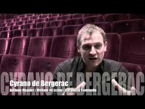 Interview Anthony Magnier pour Cyrano de Bergerac 6nov2010