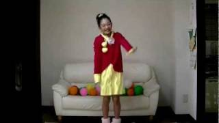 【AMU】10歳踊ってみた ステキな日曜日~Gyu Gyu グッデイ!~ 芦田愛菜
