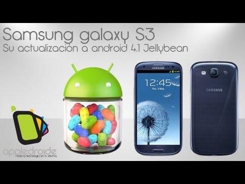 Samsung Galaxy  S3 con android 4.1 Jellybean