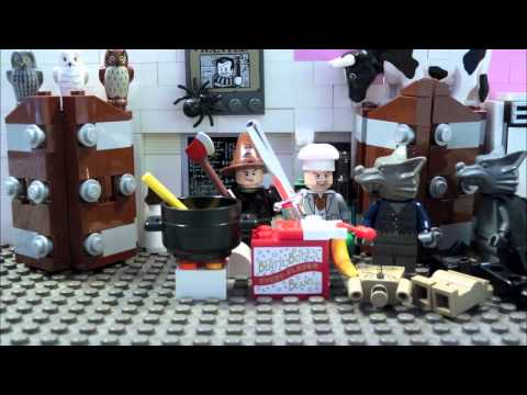 LEGO HARRY POTTER-COOKING WITH WORMTAIL -WEREWOLF GOULASH