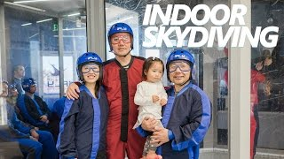 PrettyGeeky Vlog 5: California trip - Indoor Skydiving