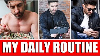 My NEW Daily Routine & Diet (A Day in the Life of Aaron Marino) 24 Hour Vlog