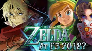 Zelda At E3 2018? Rumors, Leaks, & Speculation!